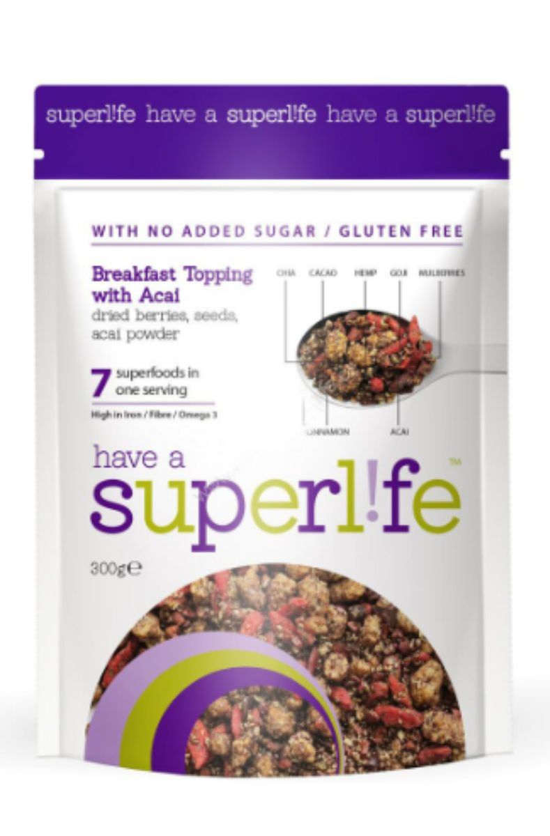 Superlife Original Breakfast Topping s acai 300 g