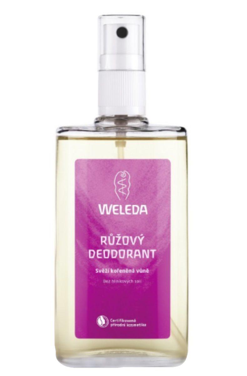 Weleda Růžový deodorant 100 ml
