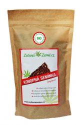 Zelená Země BIO Hemp seeds shelled 500 g