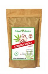 Zelená země Hemp Flour Smooth 500 g