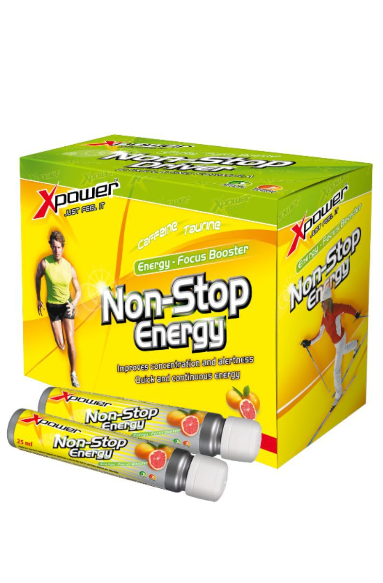 Aminostar Xpower Non-stop Energy 10 x 25 ml