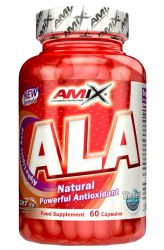 Amix ALA – kyselina alfa lipoová 60 kapslí