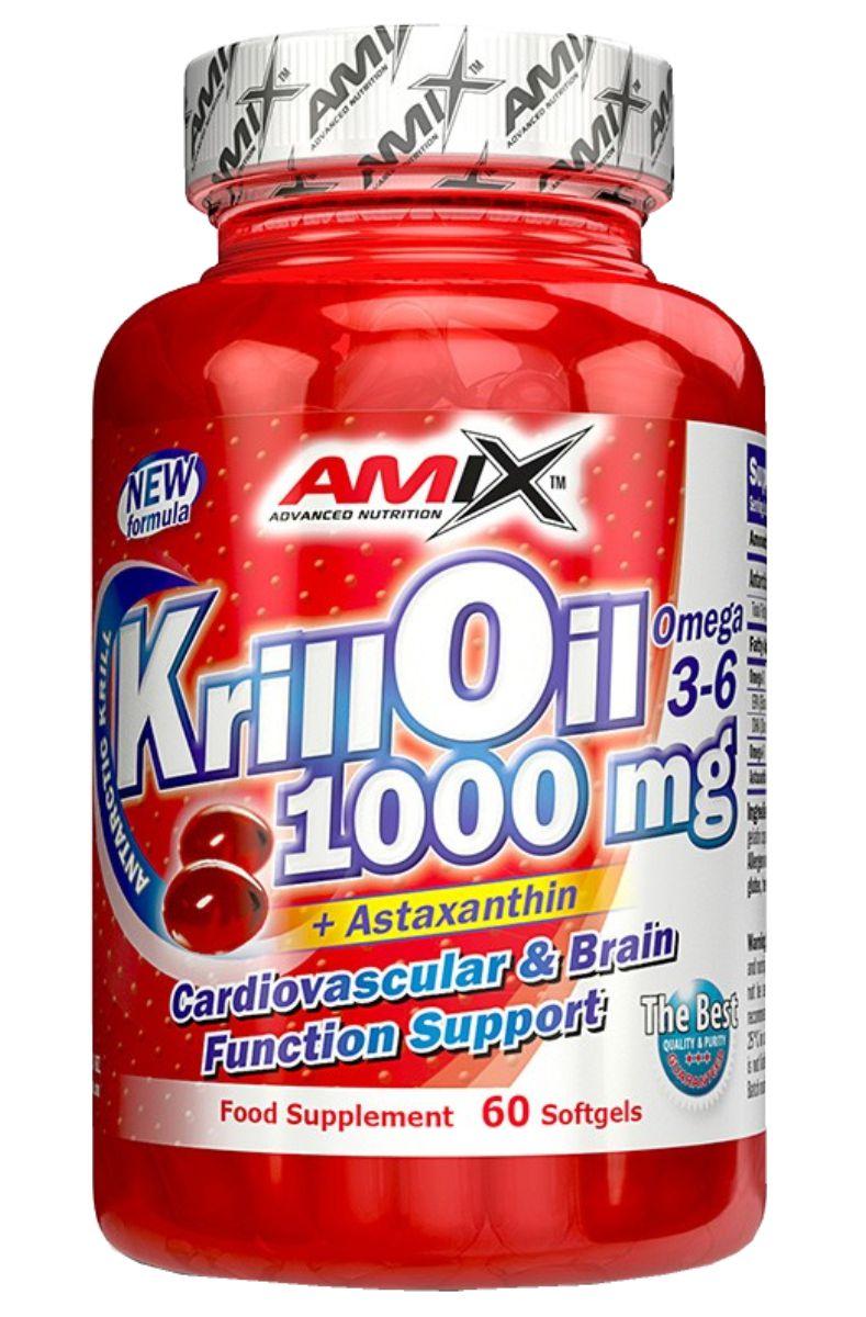 Amix Krill Oil 1000 - 60 kapslí