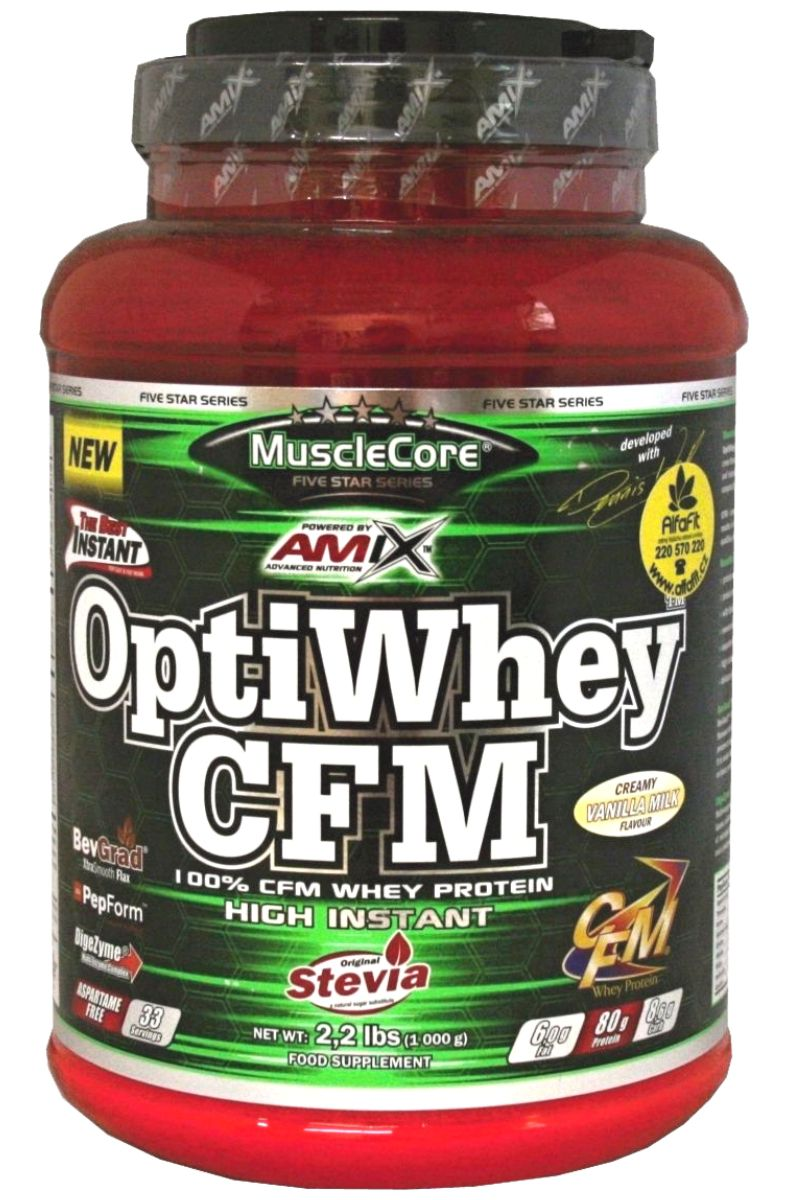 MuscleCore OptiWhey CFM Instant Protein