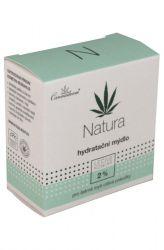 Cannaderm natura ─ hydratační mýdlo 100 g