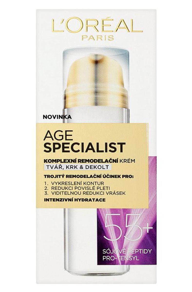 L'Oréal Age Specialist komplexní remodelační krém 55+ - 50 ml