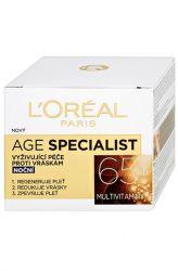 L'Oréal Paris Age Specialist noční krém 65+ proti vráskám 50 ml