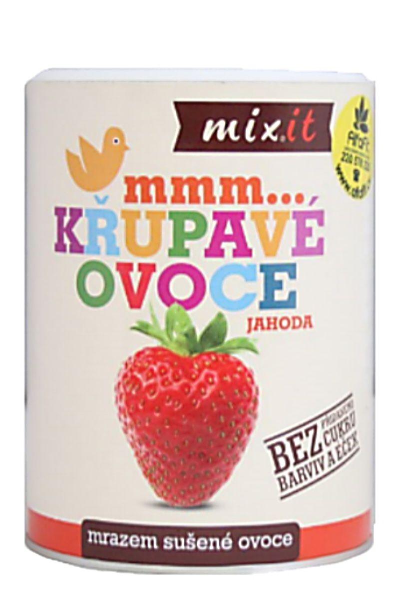 Mixit Jahoda - křupavé ovoce 50 g