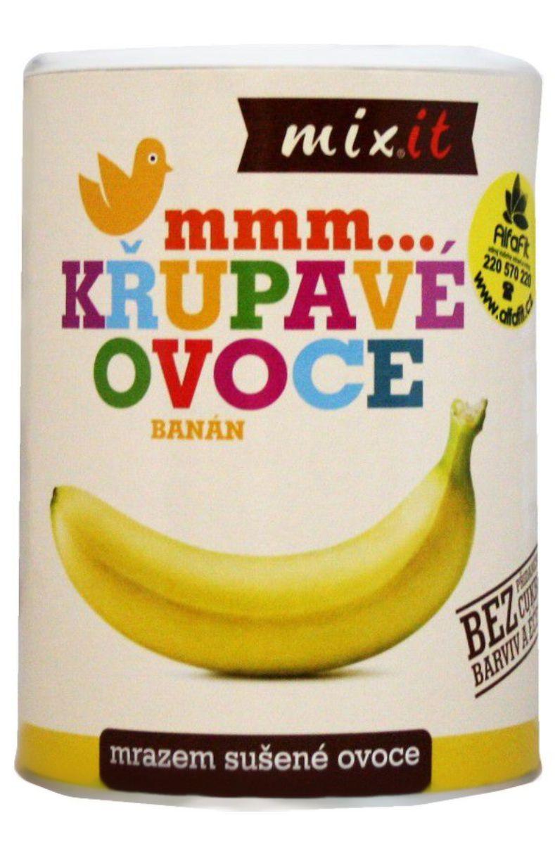 Mixit Křupavé ovoce 130 g - Banán