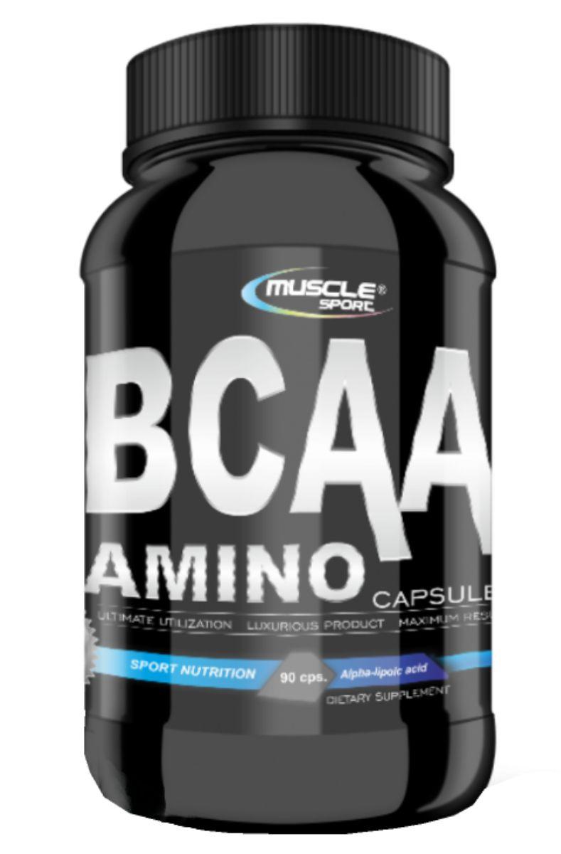 Musclesport BCAA Amino Caps 800 mg – 90 kapslí