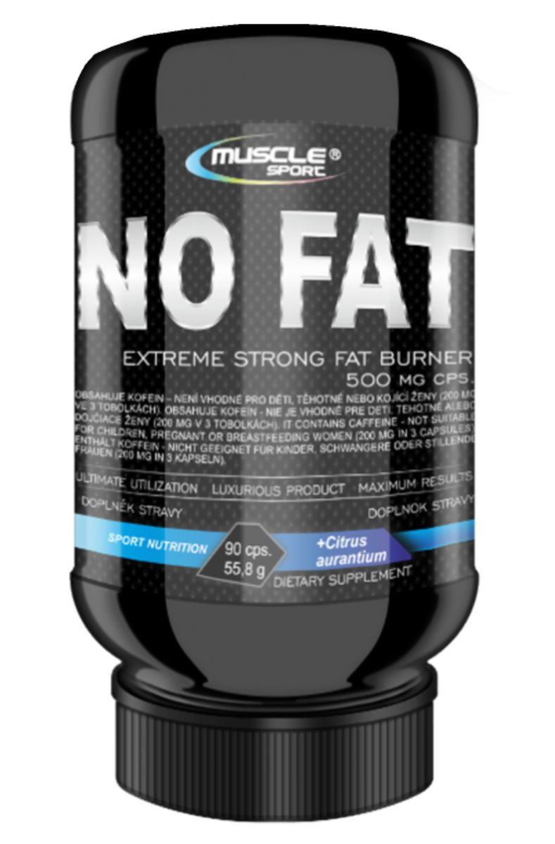 Musclesport No Fat 90 kapslí