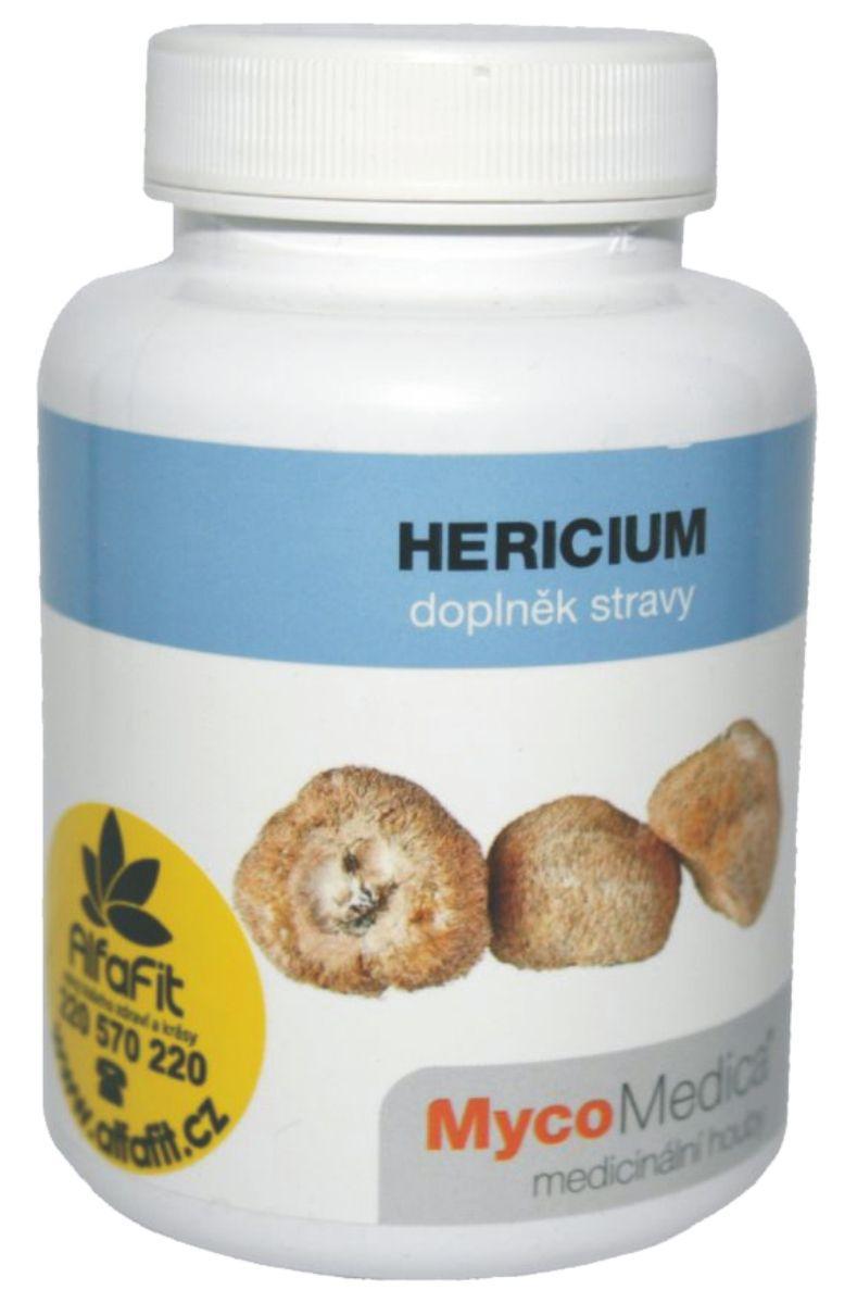MycoMedica Hericium erinaceus - Korálovec ježatý 90 kapslí