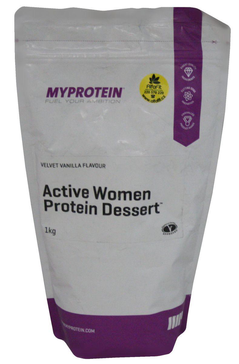 MyProtein Active Women Protein desert 1000 g