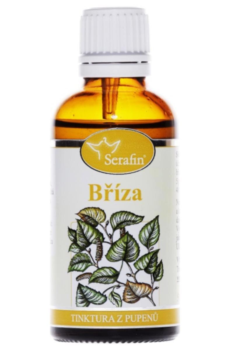 Serafin Bříza ─ Tinktura z pupenů rostliny 50 ml