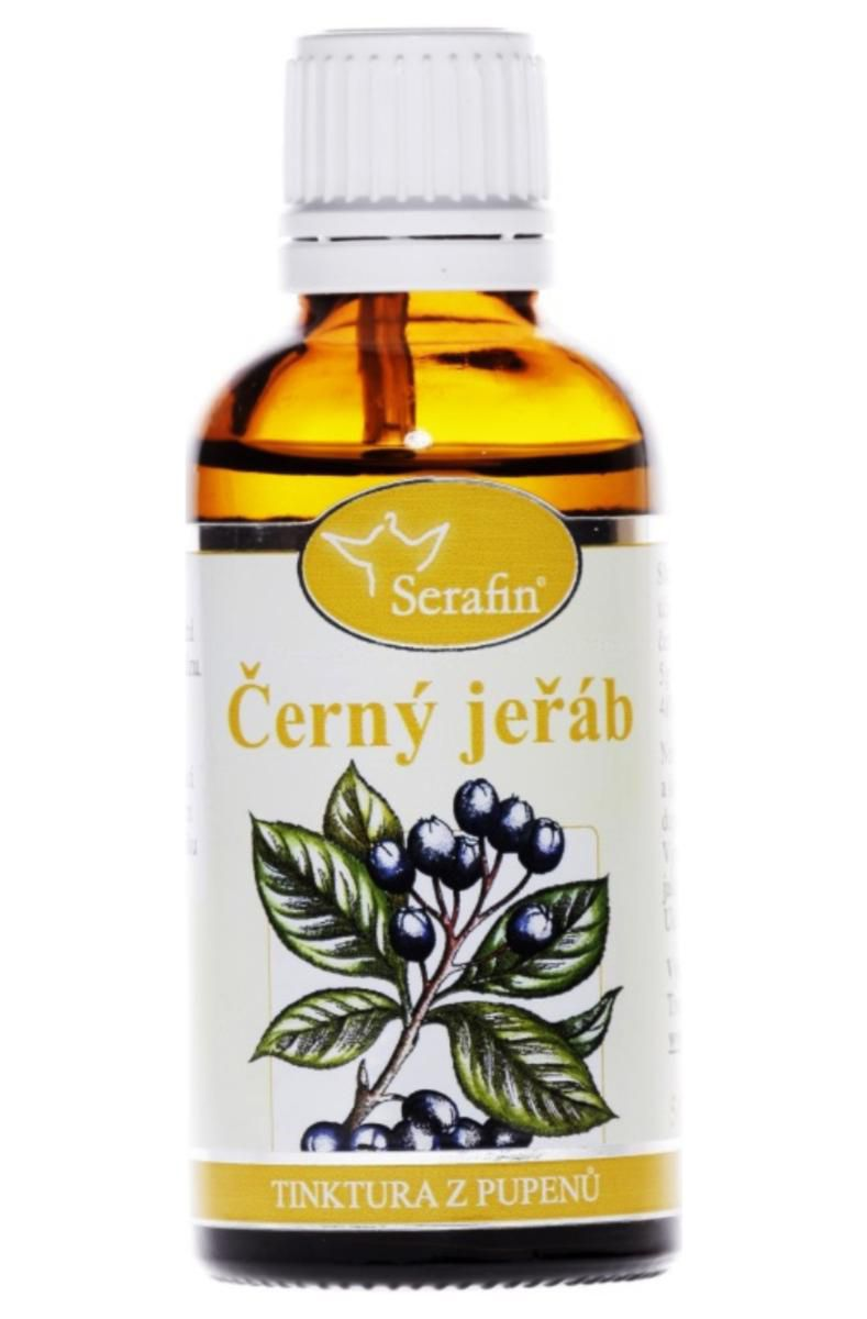 Serafin Černý jeřáb ─ Tinktura z pupenů rostliny 50 ml