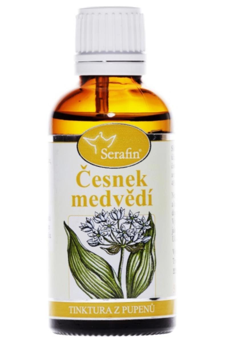 Serafin Česnek medvědí ─ Tinktura z pupenů rostliny 50 ml