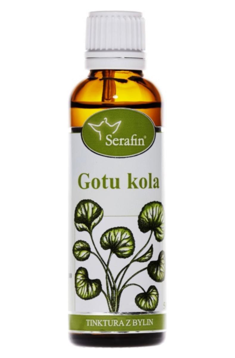 Serafin Gotu kola - Tinktura z bylin 50 ml