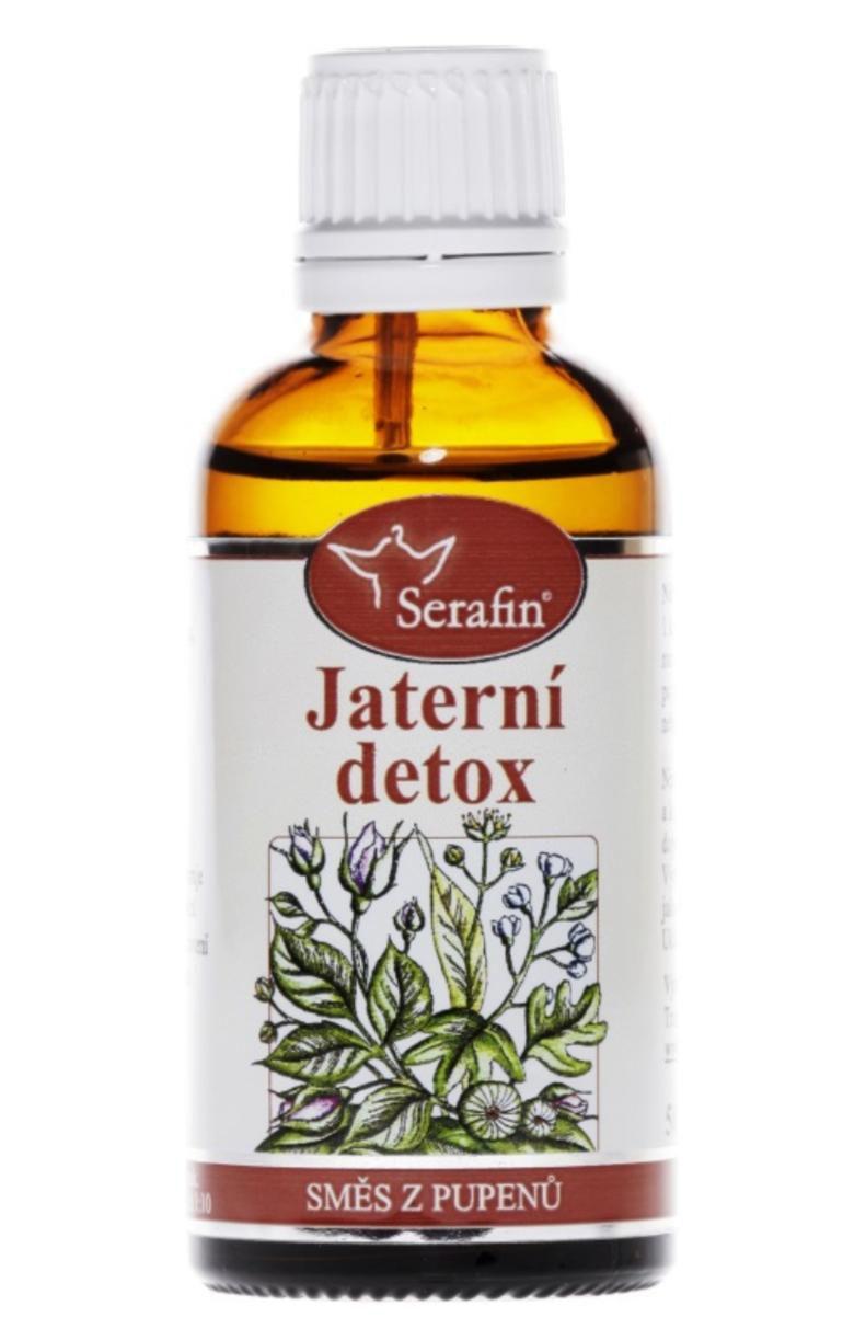 Serafin Jaterní detox - Tinktura ze směsi pupenů rostlin 50 ml