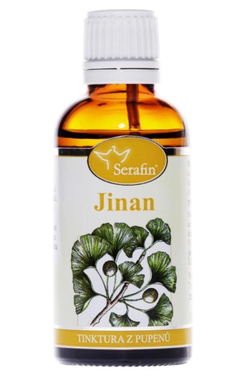 Serafin Jinan (Ginkgo) - Tinktura z pupenů 50 ml