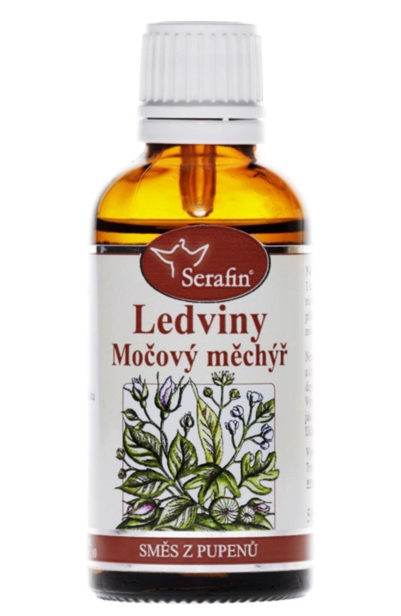 Serafin Ledviny & Močový měchýř ─ Tinktura ze směsi pupenů rostlin 50 ml