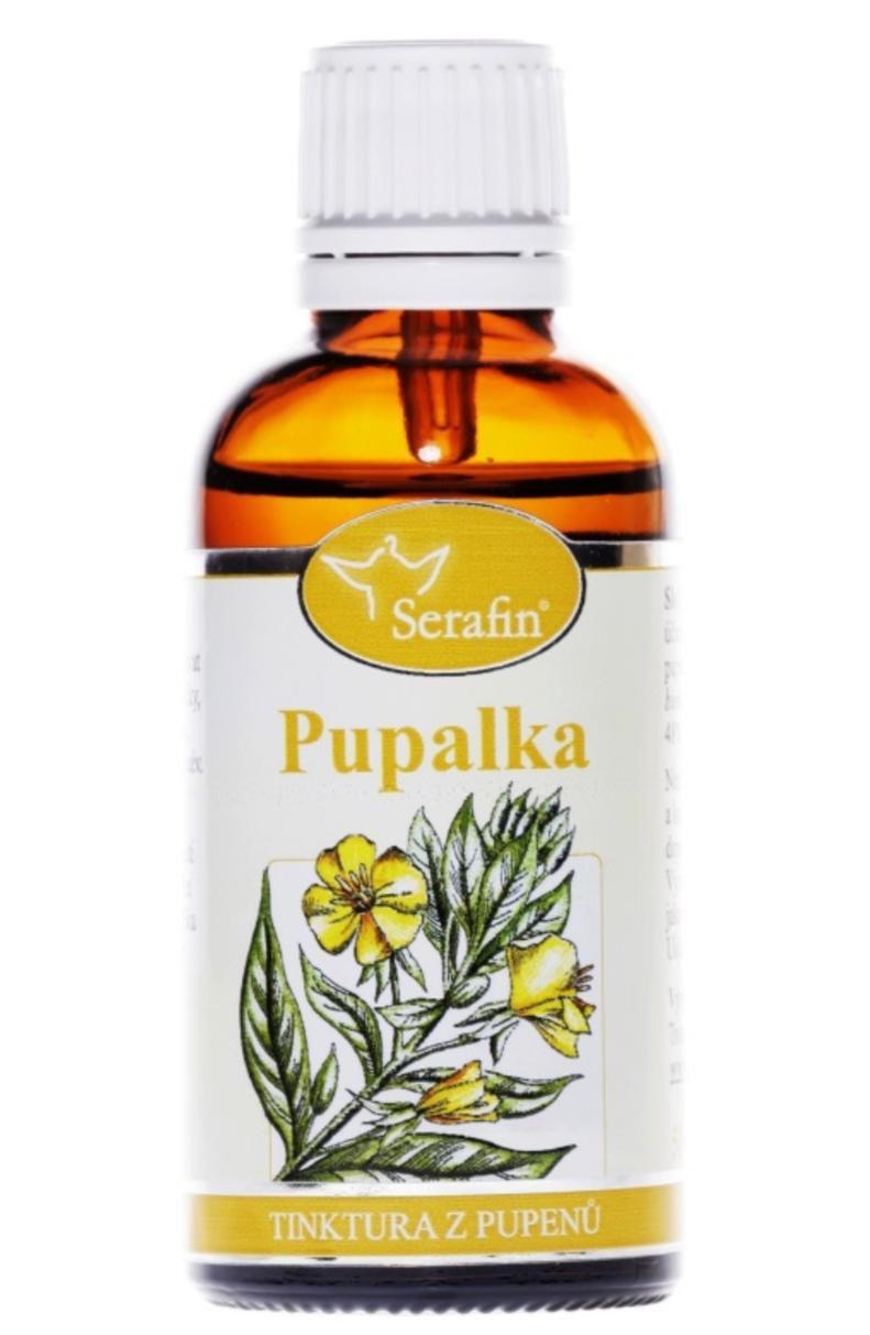 Serafin Pupalka dvouletá ─ Tinktura z pupenů rostliny 50 ml Gemmoterapie