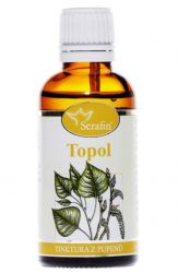 Serafin Topol ─ Tinktura z pupenů rostliny 50 ml