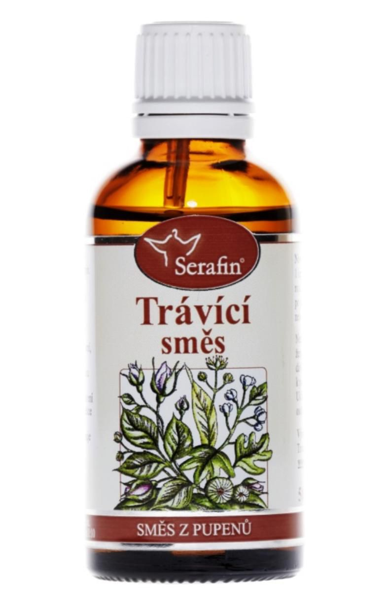 Serafin Trávicí směs ─ Tinktura ze směsi pupenů rostlin 50 ml