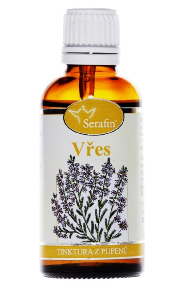 Serafin Vřes ─ Tinktura z pupenů rostliny 50 ml Gemmoterapie