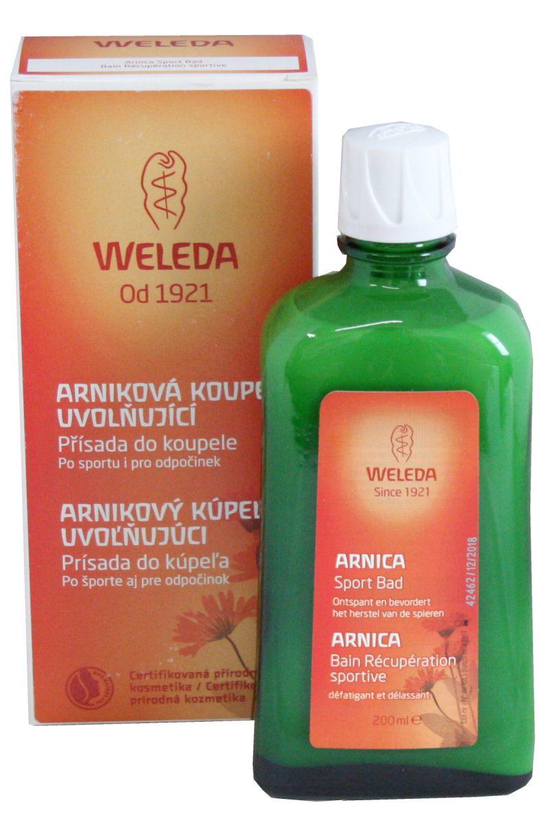 Weleda Arniková koupel uvolňující 200 ml
