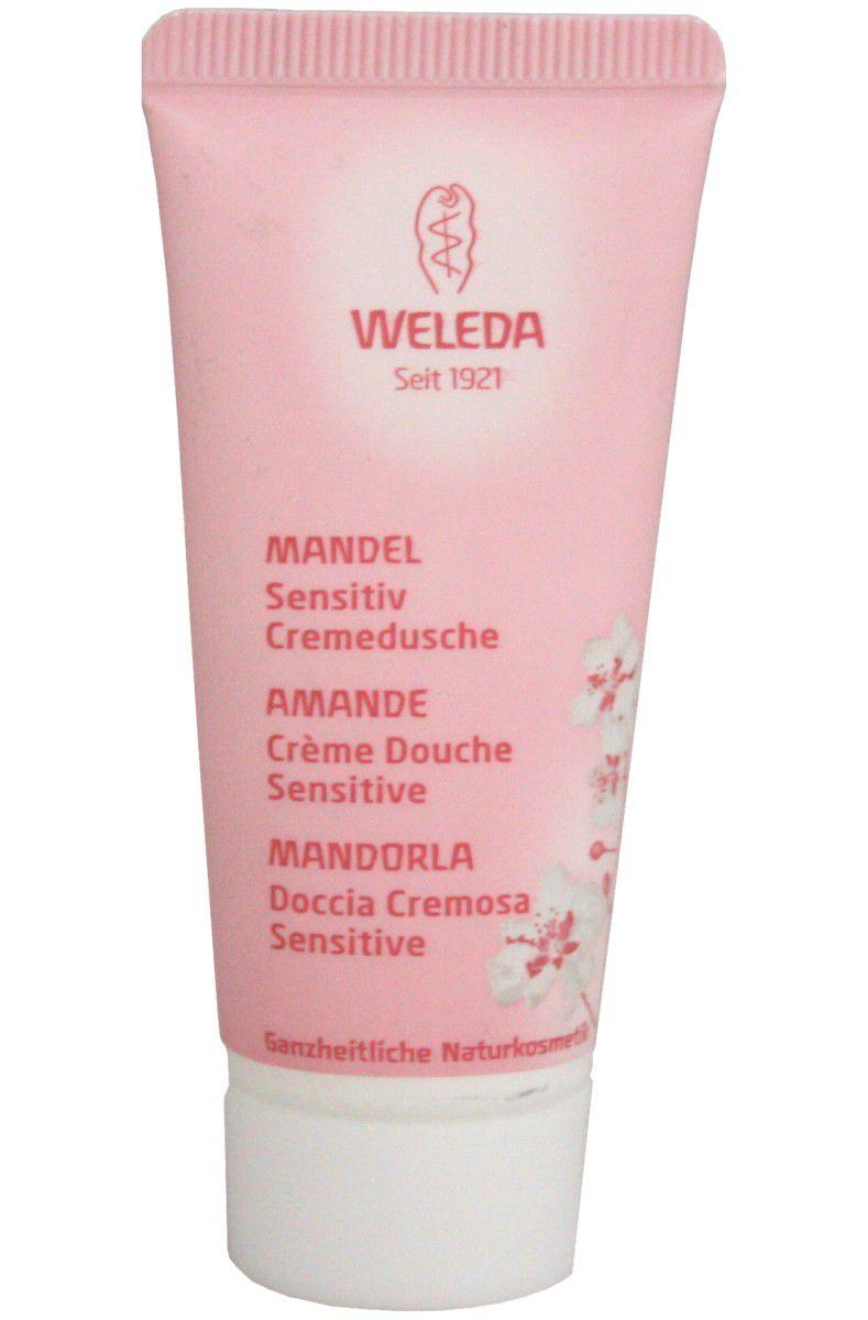 Weleda Mandlový sprchový krém pro citlivou pokožku 20 ml