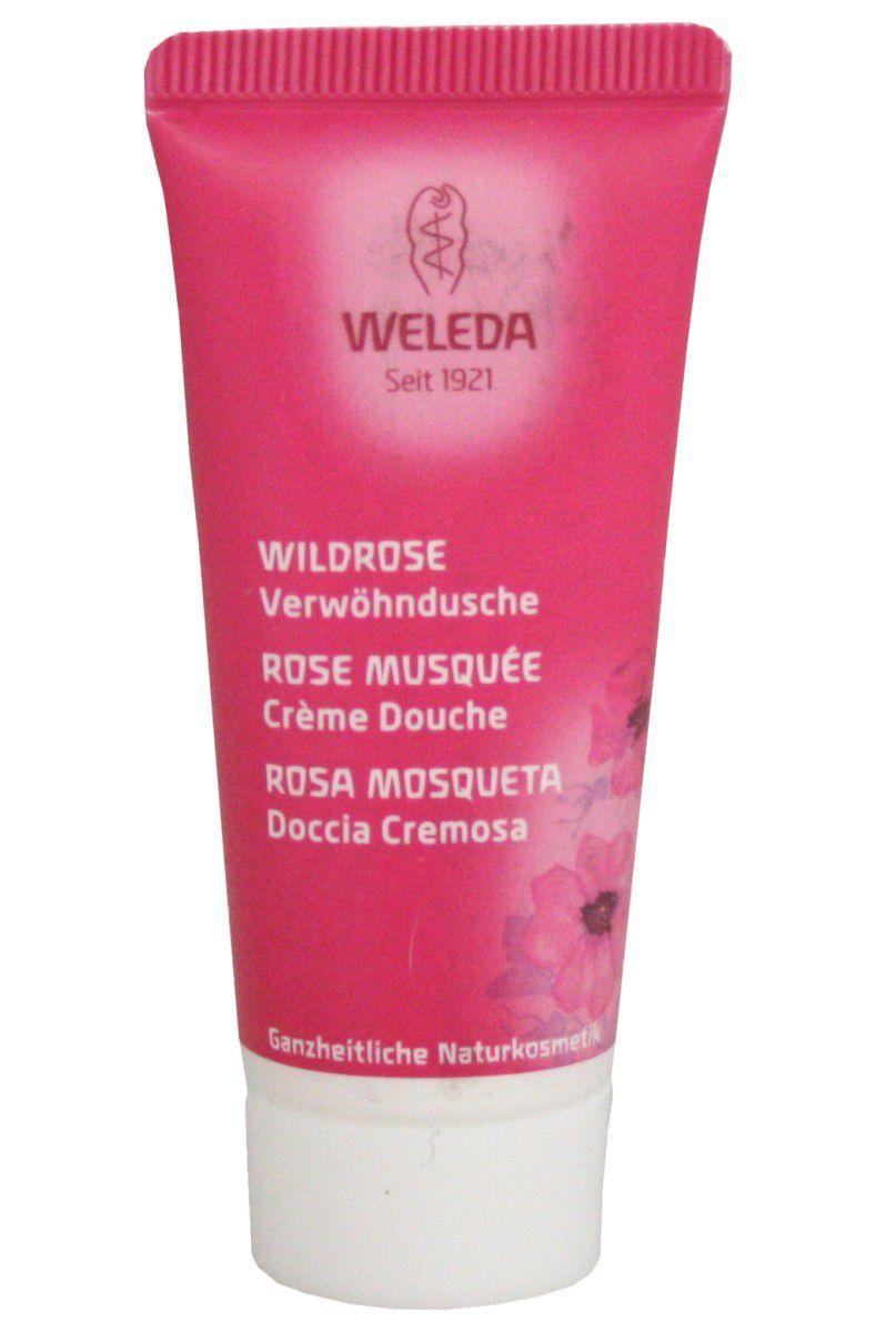 Weleda růžový harmonizující sprchový krém 20 ml