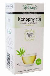 Zelená Země Konopný čaj porcovaný 30 g