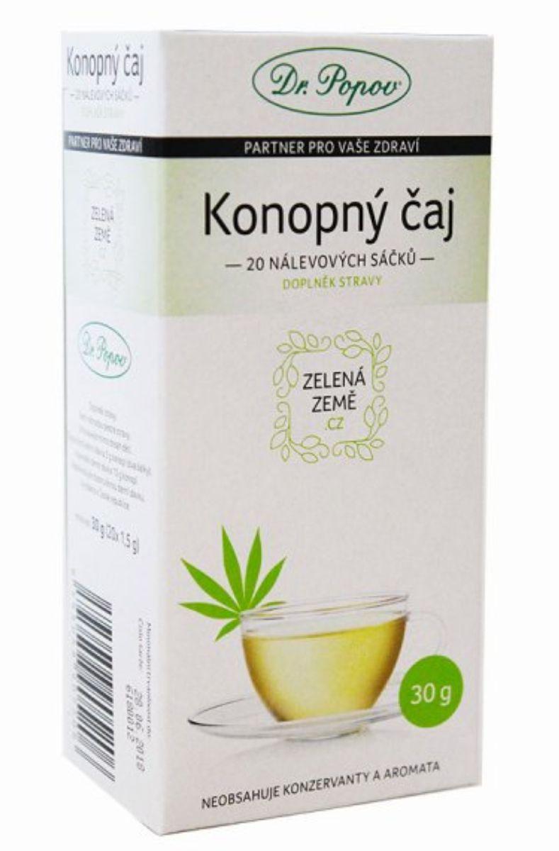 Dr. Popov Konopný čaj porcovaný 30 g