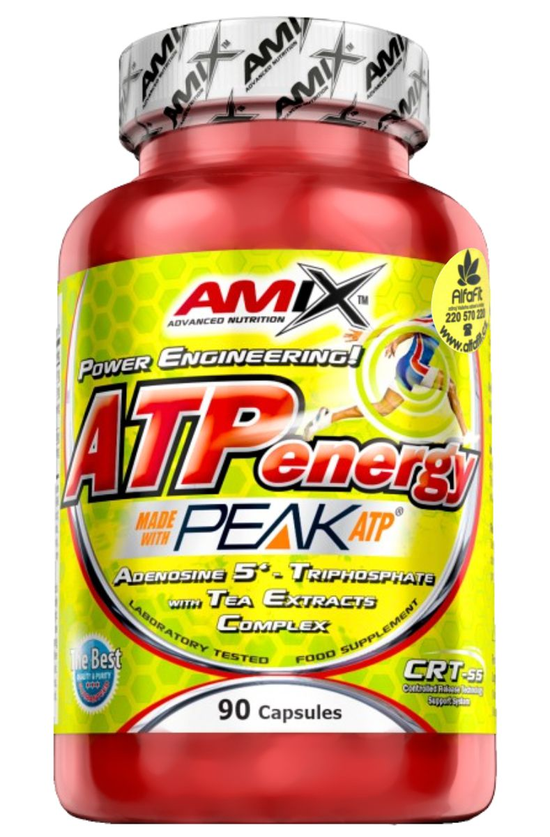 Amix ATP Energy - PEAK ATP 90 kapslí