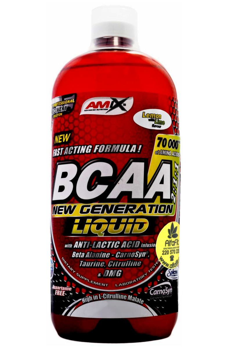 Amix BCAA Liquid New Generation 1000 ml
