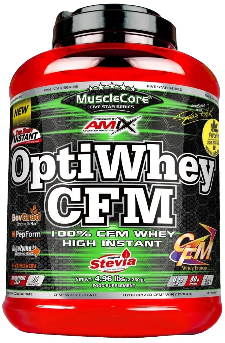Amix MuslceCore Opti Whey CFM Protein 2250 g