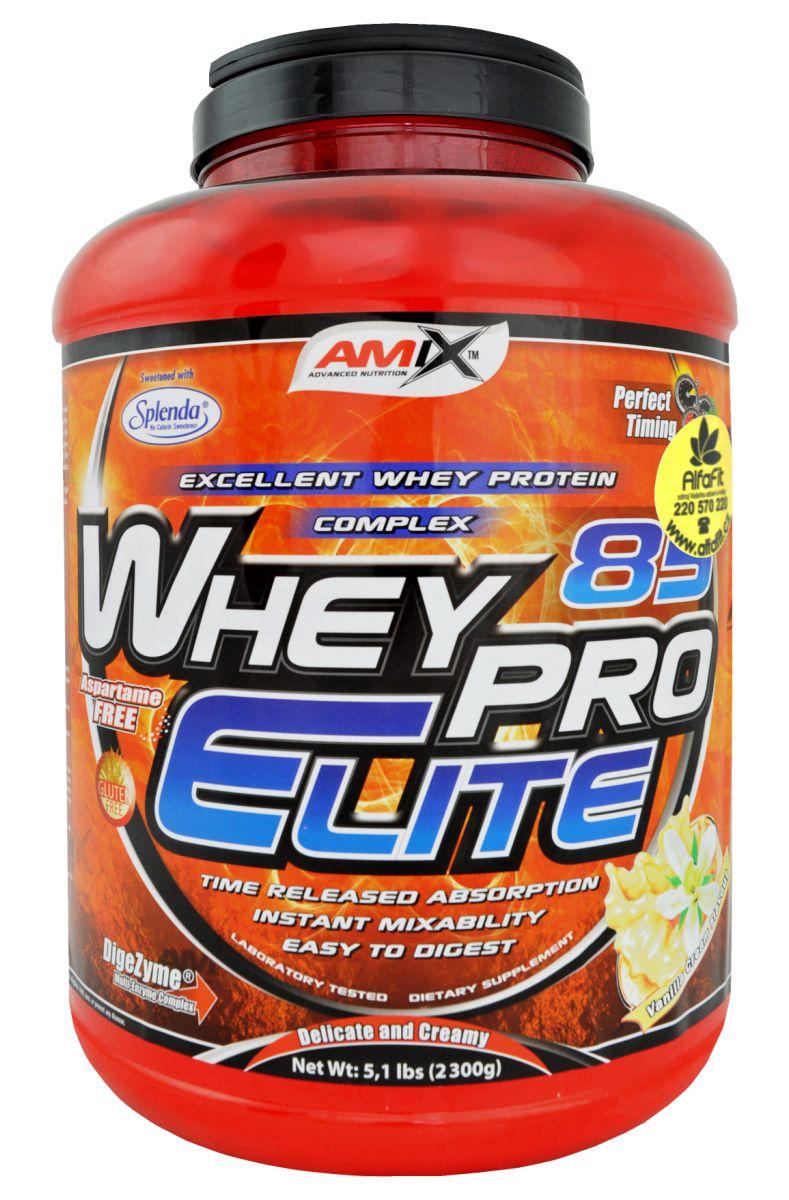 Amix Whey Pro Elite 85 - 2300 g