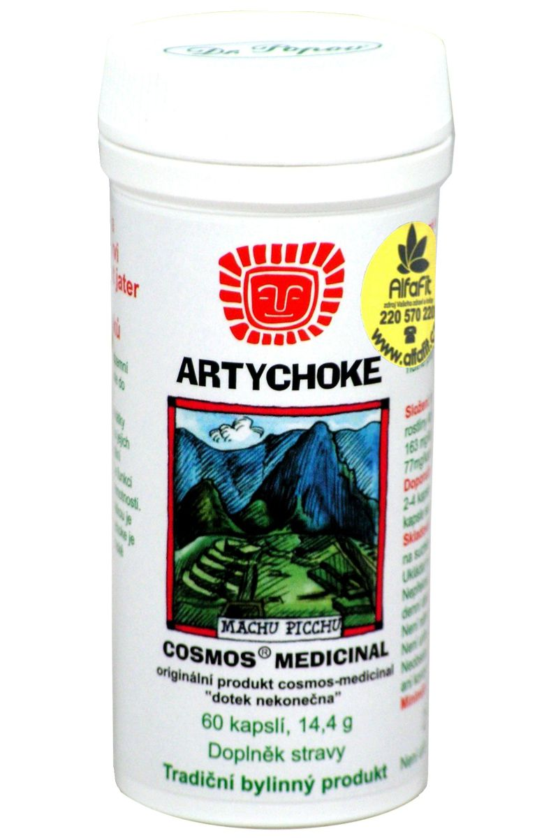Cosmos Artychoke 60 kapslí