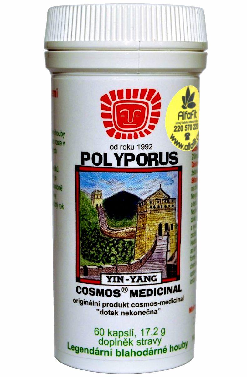 Cosmos Polyporus 60 kapslí