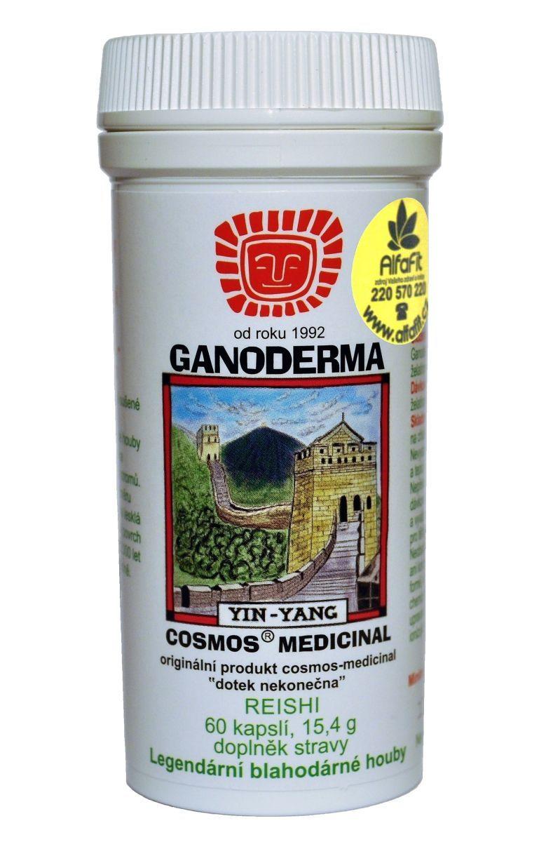 Cosmos Reishi Ganoderma 60 kapslí