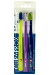 Curaprox CS5460 Ultrasoft Toothbrush 3 pcs
