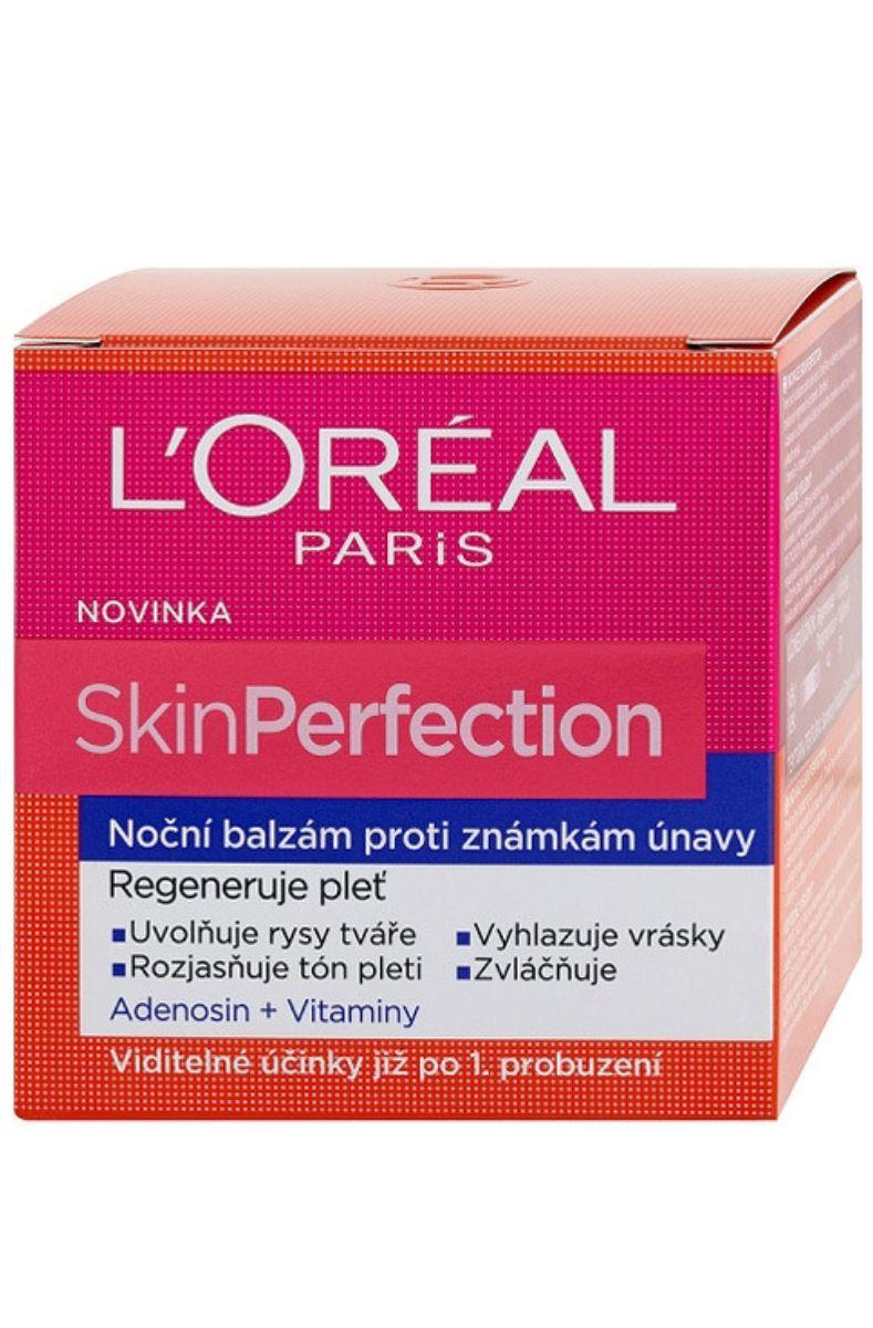 L´Oreal Pairs Skin Perfection Noční balzám proti známkám únavy