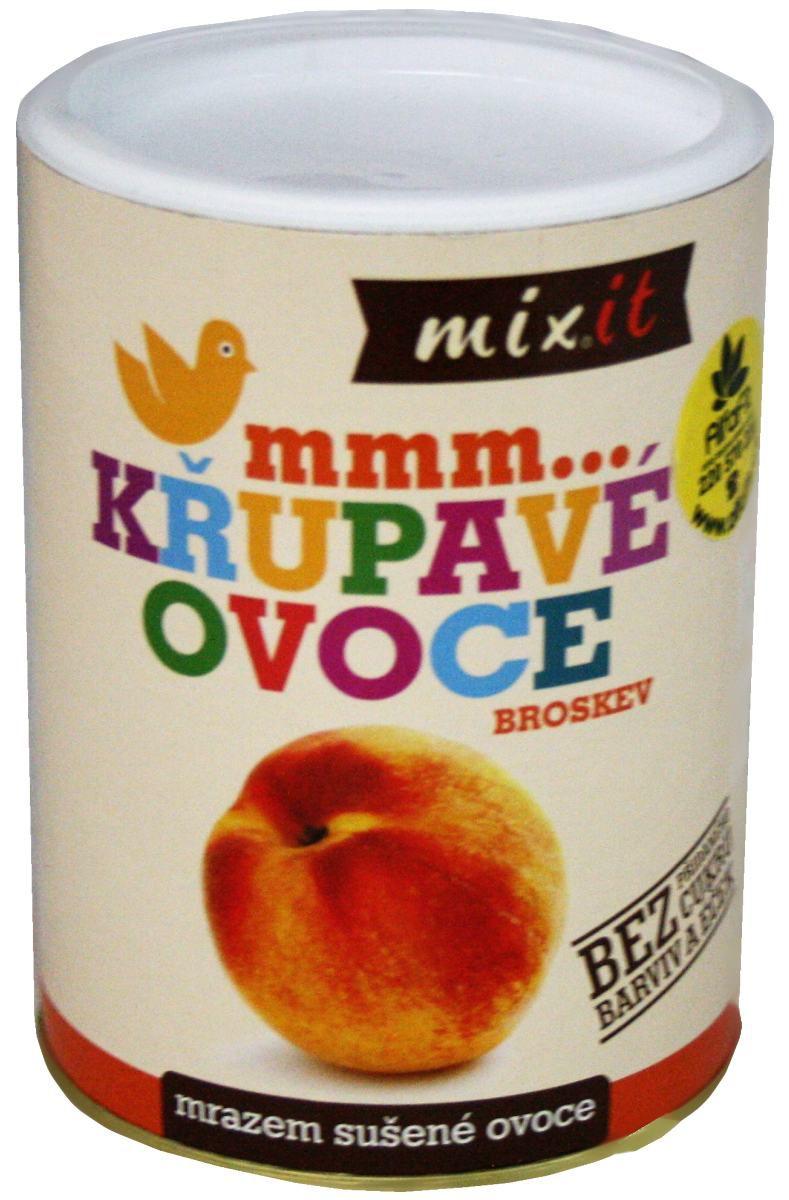 Mixit Broskev – křupavé ovoce 50 g
