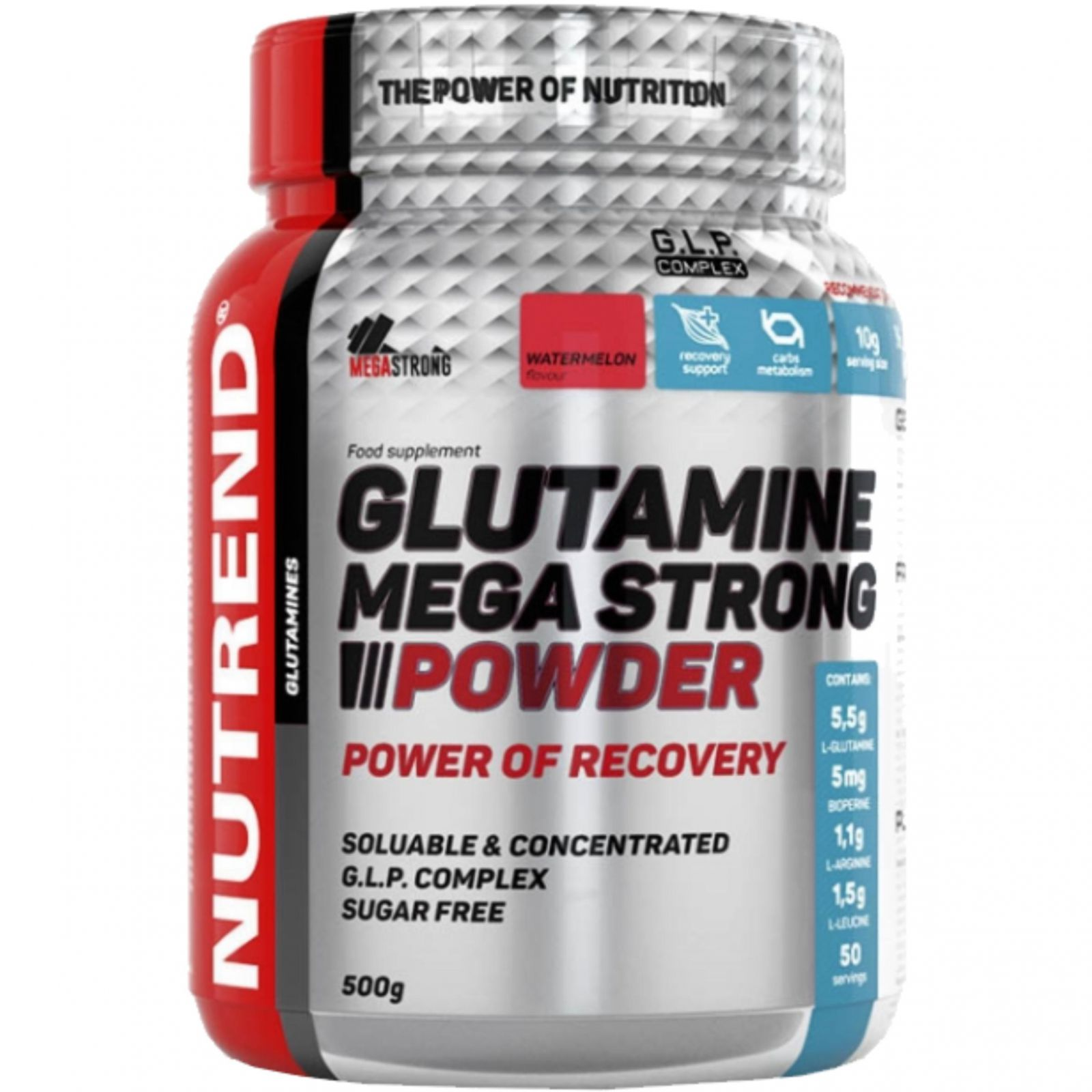 Nutrend Glutamine mega strong power