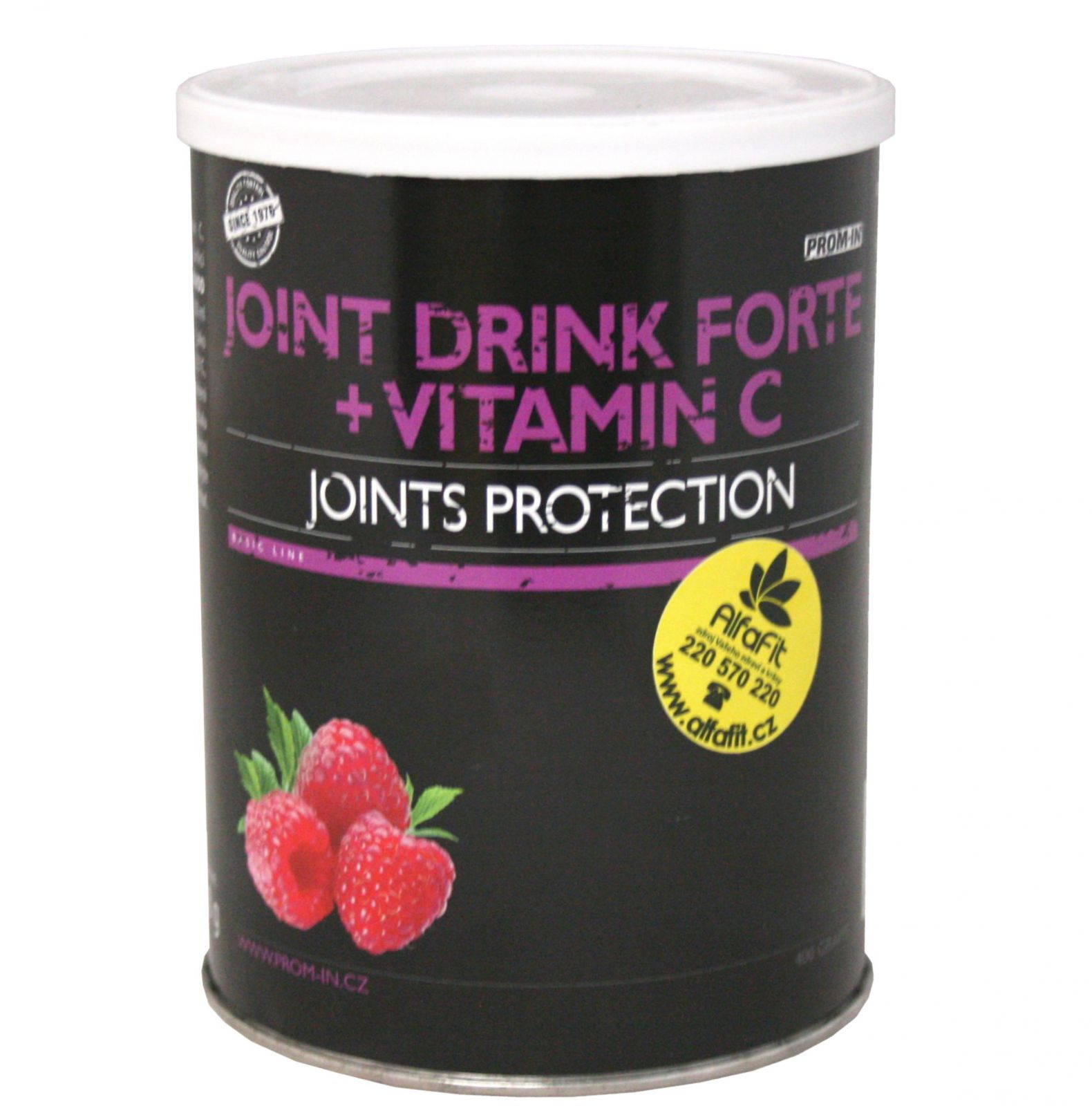 PROM-IN Joint Drink Forte + Vitamin C - příchuť malina