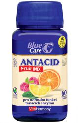 VitaHarmony Antacid Fruit MIX 60 Tabletten ─ Geschmack Orange & Zitrone & Himbeere