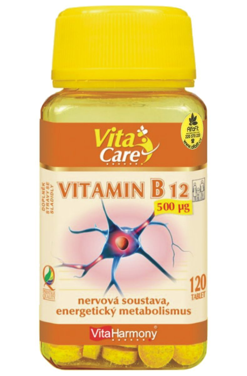 VitaHarmony B 12 - 500 mg - 120 tablet