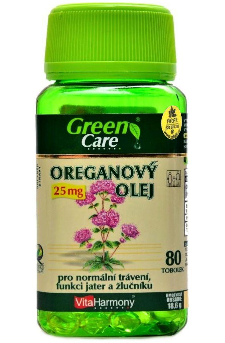 VitaHarmony Oreganový olej 25 mg - 80 tobolek