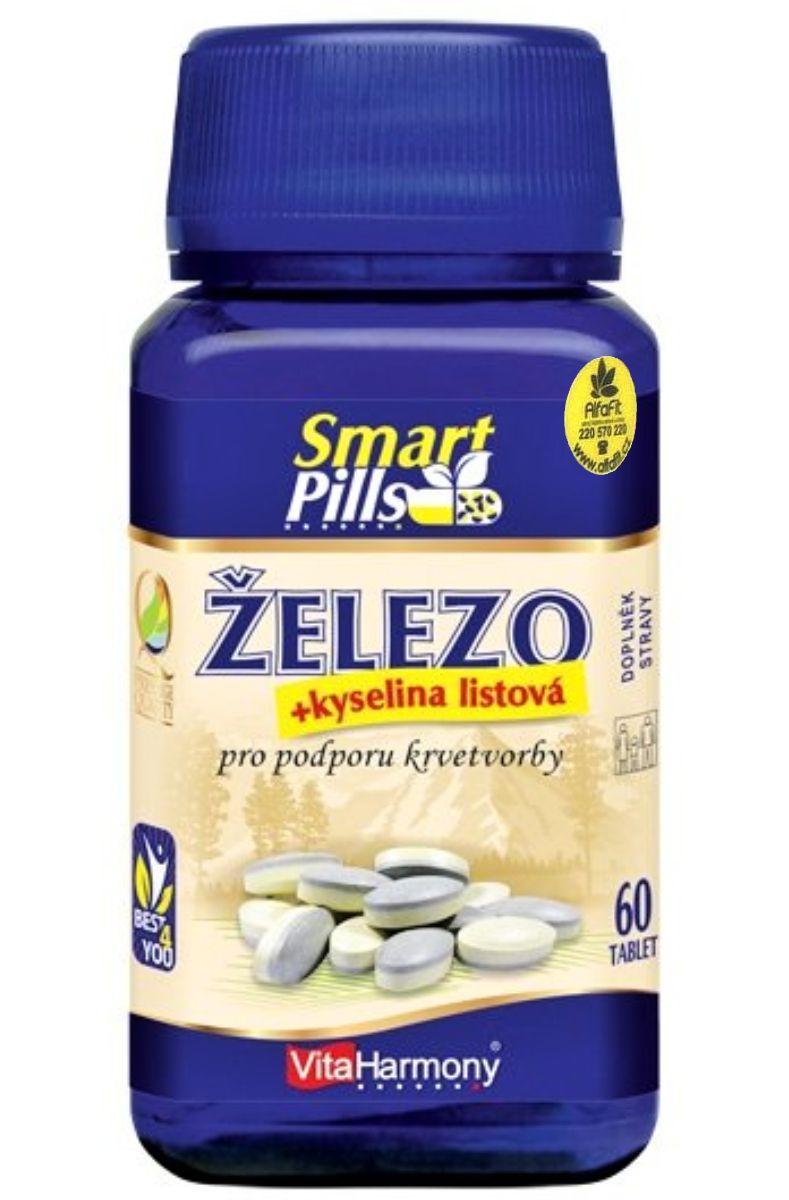 VitaHarmony Železo & kyselina listová 60 tablet