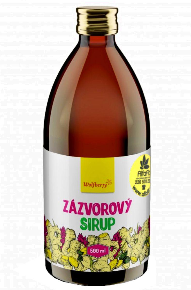 Wolfberry Zázvorový sirup 500 ml